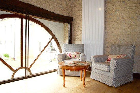 Gite Alme living area