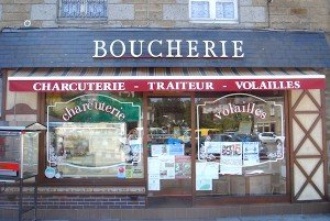 Butcher's at Putanges