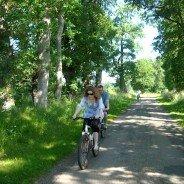 Cycling 'en famille' in Normandy
