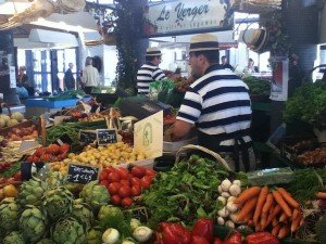 Fruit & Veg French market