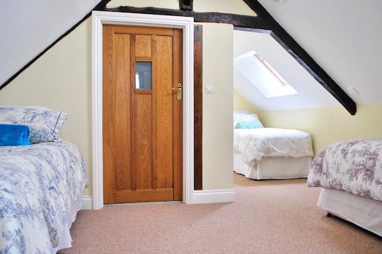 Attic bedroom Cor de la Briere