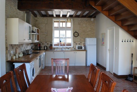 Gite Almé kitchen