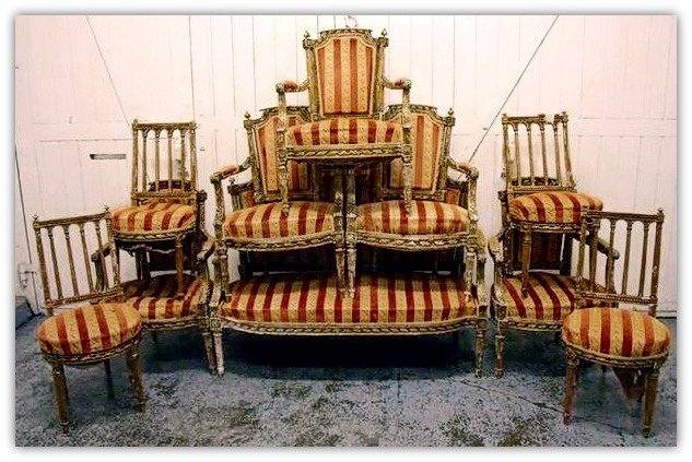 Antique shopping chairs 3auction